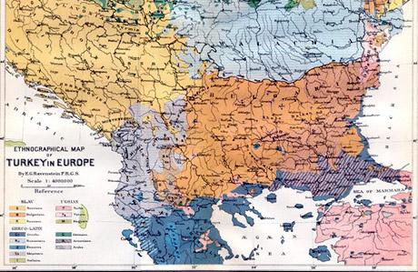 Ek8esh Me Xartes Ths Megalhs Albanias Sto Eyrwkoinoboylio Greek
