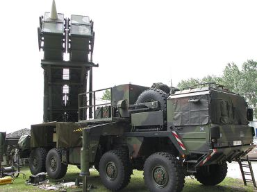 Patriot-system-of-the-German-Air-Force