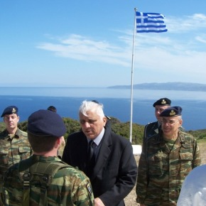 Επίσκεψη Υφυπουργού Εθνικής Άμυνας κ. Παναγιώτη Καράμπελα στηΧίο