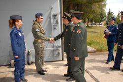 Επίσκεψη αντιπροσωπείας Αξιωματικών της Λαϊκής Δημοκρατίας της Κίνας στην 114ΠΜ