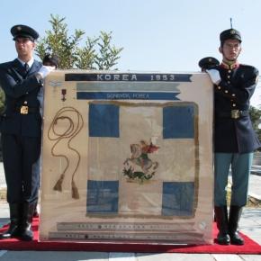 Μνημόσυνο υπέρ αναπαύσεως των 186 νεκρών Ελλήνων στο Πόλεμο τηςΚορέας