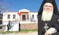 Γράφτηκε ο Α΄μαθητής στο ελληνικό σχολείο Ιμβρου!Ο Οικουμενικός Πατριάρχης Βαρθολομαίος «υποδέχθηκε» στους Αγίους Θεοδώρους Ίμβρου, τον πρώτομαθητή.