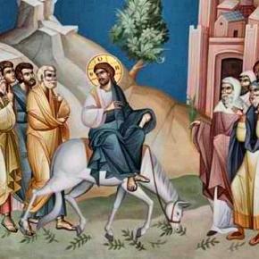 ΚΥΡΙΑΚΗ ΤΩΝ ΒΑΪΩΝ Η θριαμβευτική είσοδος του Ιησού στηνΙερουσαλήμ