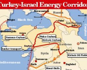 Delek: Μέσω των Κυπριακών Υδάτων ο Αγωγός ΑερίουΙσραήλ-Τουρκίας