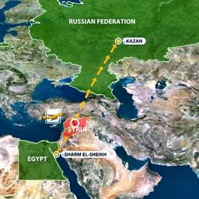 Αναστολή πτήσεων πάνω από εμπόλεμες ζώνες για τις ρωσικές αεροπορικέςεταιρείες