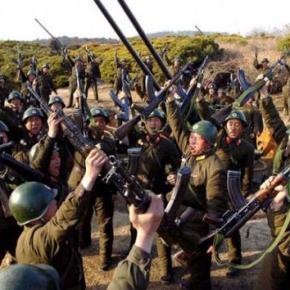 ΒΙΝΤΕΟ: Βόρεια Κορέα εναντίον Νότιας Κορέας – Ταοπλοστάσια