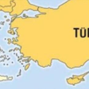 Εμφανίζουν χάρτη με τη Θεσσαλονίκη και την Κύπρο μέσα στηνΤουρκία