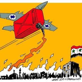 Συρία, Κατεχόμενα Υψώματα του Γκολάν: Το Ισραήλ μέντορας της απαγωγής τωνΚυανοκράνων.