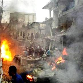 Συρία: Ο στρατός στο προπύργιο τωνανταρτών