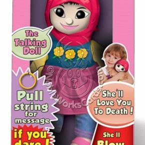 ΣΑΛΟΣ ΣΤΙΣ ΗΠΑ Ισλαμική κούκλα με… τρομοκρατικέςευχές!