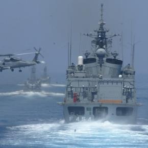 ΤΙ ΠΡΟΒΛΕΠΕΙ Ο ΣΧΕΔΙΑΣΜΟΣ ΤΟΥ Π.Ν.Ο Στόλος στο Αιγαίο σε σχηματισμό προάσπισης της ΑΟΖ – Έρχεται και «Καταιγίδα»πυραύλων