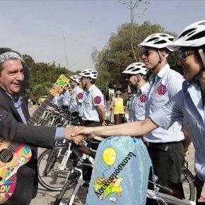 Άοπλη Περιπολία με ποδήλατα σε μια πόλη που για να επιβιώσεις χρειάζεται…Άρματα!