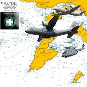 ΣΕ ΑΠΟΣΤΟΛΕΣ Α/Υ ΠΟΛΕΜΟΥ –  «Mια ανάσα» από Μεγίστη, Ρω και Στρογγύλη πέταξαν τουρκικά ελικόπτερα καιAΦΝΣ