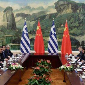 Εντατικοποίηση της διμερούς συνεργασίας συμφώνησαν Κίνα καιΕλλάδα