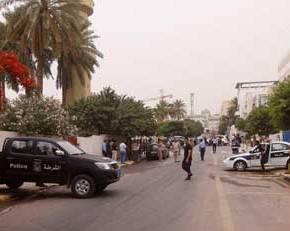 Έκρηξη έξω από την ελληνική πρεσβεία στηΛιβύη.