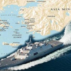 ΑΚΟΜΑ ΑΝΑΖΗΤΕΙΤΑΙ Η ΕΛΛΗΝΙΚΗ ΑΣΚΗΣΗ… Βγήκε ο τουρκικός Στόλος στο Αιγαίο με stealth πλοία – «Τουρκοκρατία» ανατολικά του 28ουΜ.