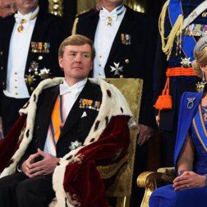 Η ενθρόνιση του βασιλιά της Ολλανδίας.Ανδρας βασιλιάς έπειτα από 123 χρόνια στηνΟλλανδία
