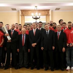 Ο Πρόεδρος της Δημοκρατίας τίμησε τους ΠρωταθλητέςΕυρώπης
