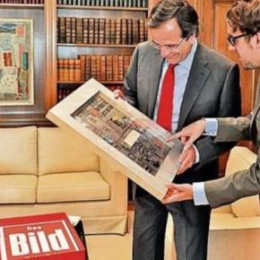 «Aπό πρωθυπουργός της χρεοκοπίας, φορέας της ελπίδας ο «νικητής» Σαμαράς» γράφει ηBild