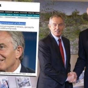 Ο Τόνι Μπλέρ σύμβουλος του Έντι Ράμα »επόμενου πρωθυπουργού» της Αλβανίας!