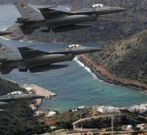 Τούρκικα μαχητικά οπλισμένα πέταξαν σήμερα στο Αιγαίο …Αναχαιτίστηκαν απο Ελληνικά!