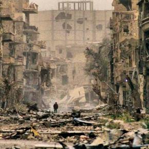 Σκηνές σοκ: Η ισοπέδωση της χριστιανικής συνοικίας της αλ-Κουσέιρ από τους ισλαμιστές στηνΣυρία