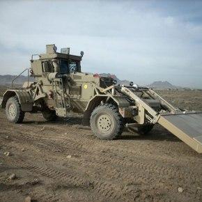 Οχήματα εντοπισμού ναρκών Husky για τηνΤουρκία