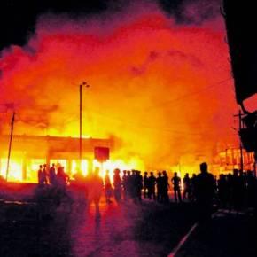 Βανδαλισμοί «διαδηλωτών» στο Ελληνικό Προξενείο στηνΠόλη