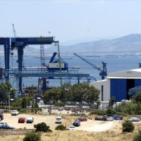 Οργή εργαζομένων των ναυπηγείων Ελευσίνας κατάΣΥΡΙΖΑ
