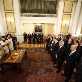 Σαμαράς στο Υπουργικό: «Μας ενώνει το συμφέρον τηςχώρας»