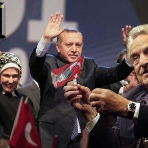 Eρντογάν: «O Σόρος προσπαθεί να μεανατρέψει»