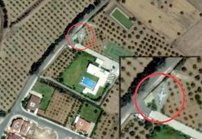 Η Google εντόπισε μαχητικό στο σπίτι του ΤάσσουΠαπαδόπουλου!