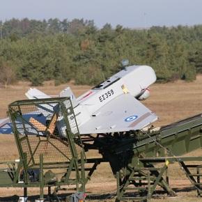 Ελεγχόμενη προσγείωση αεροχήματος Sperwer του 472 ΤΕΠΠ στηΦωκίδα