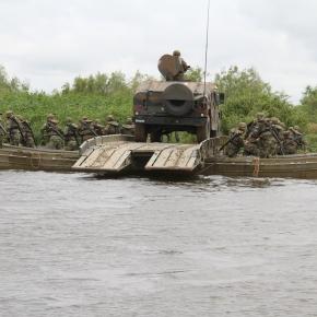 Εκπαίδευση στη Βιαία Διάβαση Ποταμού από την 31 Μ/ΚΤΑΞ
