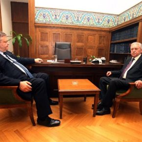Κουβέλης – Βενιζέλος: Ζητούν επικαιροποίηση κυβερνητικού προγράμματος σε σύσκεψη με τονΠρωθυπουργό
