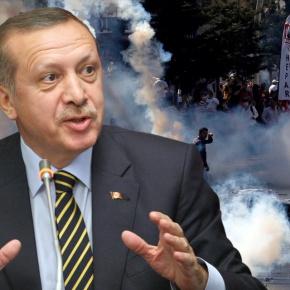 Πλατεία Taksim: Πάλι χιλιάδες διαδηλωτές ζητούν την παραίτηση τουΕρντογάν