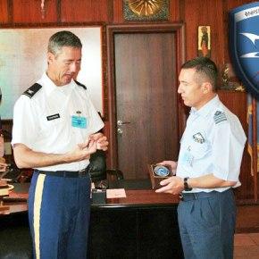 Επίσκεψη του Στρατιωτικού Ακόλουθου Άμυνας των ΗΠΑ στην 113ΠΜ