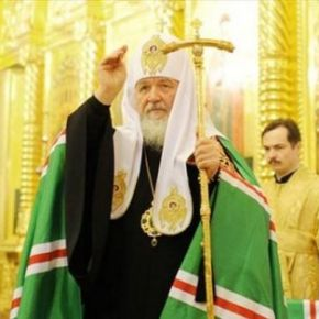 Λαμπρή υποδοχή του Πατριάρχη ΜόσχαςΚυρίλλου