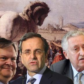 ΠΑΣΟΚ-ΔΗΜΑΡ ΣΕ ΑΔΙΕΞΟΔΟ.Η τρικομματική κυβέρνηση «πέθανε» αλλά ακόμα δεν το έχει καταλάβει – Όμως δεν γίνονταιεκλογές