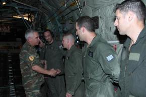ΑΣΚΗΣΗ ΤΑΧΕΙΑΣ ΠΡΟΛΗΠΤΙΚΗΣ ΑΝΑΠΤΥΞΗΣ ΕΝΙΣΧΥΣΕΩΝ ΣΤΟ Α.ΑΙΓΑΙΟ ΜΕ ΑΛΜΑ ΑΠΟ C-130 (ΦΩΤΟ &VIDEO)