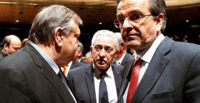 Συμβιβαστική πρόταση εννέα σημείων παρουσίασε ο Σαμαράς σε Βενιζέλο καιΚουβέλη