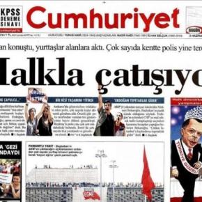 Τoυρκικός Τύπος: » O δικτάτοραςτρελάθηκε»