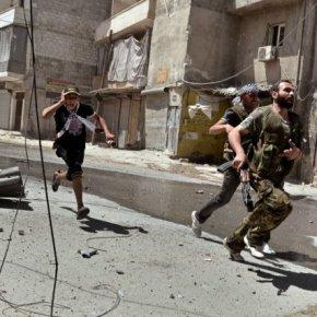Ανακωχή ζήτησαν εσπευσμένα οι ισλαμιστές στην Συρία – Ισοπεδώθηκαν στην Χομς ΣΥΝΤΡΙΒΟΝΤΑΙ ΣΕ ΟΛΑ ΤΑΜΕΤΩΠΑ