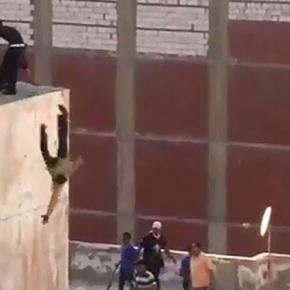 Πετούν στο κενό νεαρούς Αιγύπτιους οι Ισλαμοφασίστες…(video)