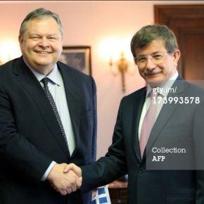 Τούρκος ΥΠΕΞ στη συνάντηση με Βενιζέλο: Η Τουρκία θα αντιδράσει σε (κουρδική) απειλή από τηΣυρία