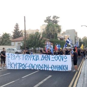 Ομιλία του Σάββα Καλεντερίδη στο οδόφραγμα της Λήδρας, την 20ή Ιουλίου 2013 στηΛευκωσία