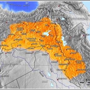 Οι Κούρδοι έτοιμοι να χαράξουν νέασύνορα