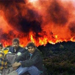Ποίοι είναι πίσω από τις φωτιές; Δύο Αφγανοί λαθρό από τουρκία τις έβαλαν στηνΣάμο!