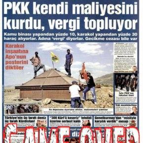 «Το PKK εισπράττει φόρους στη νοτιοανατολικήΤουρκία!»