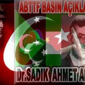 Τουρκική προπαγάνδα με αφορμή την επέτειο θανάτου του ΑχμέντΣαντίκ